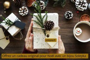 cadeau original pour Noël avec un bijou Soleyka