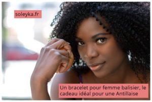un bracelet pour femme balisier cadeau idéal pour antillaise