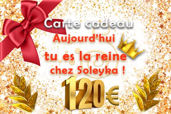 Carte-cadeau 120€